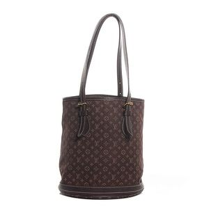 Louis Vuitton Bucket Monogram Mini Lin Bag